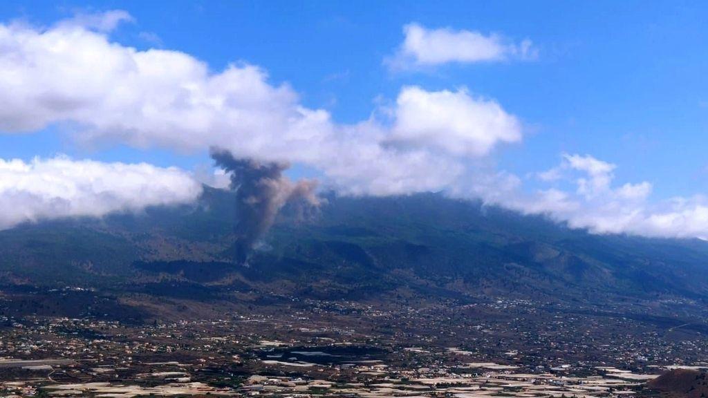 Las espectaculares imágenes que deja la erupción del volcán en La Palma