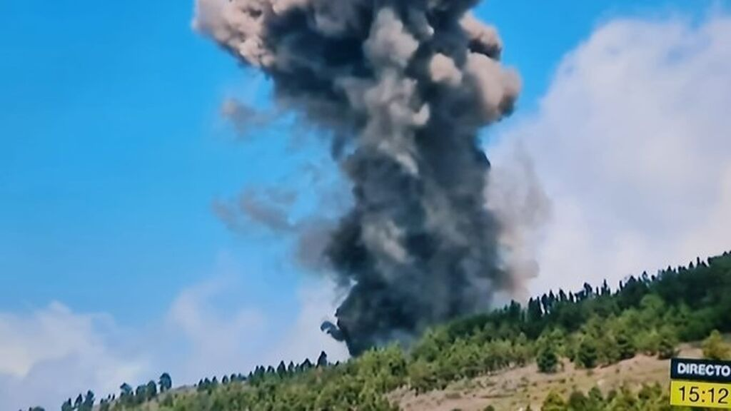 El Cumbre Vieja entre en erupción en La Palma