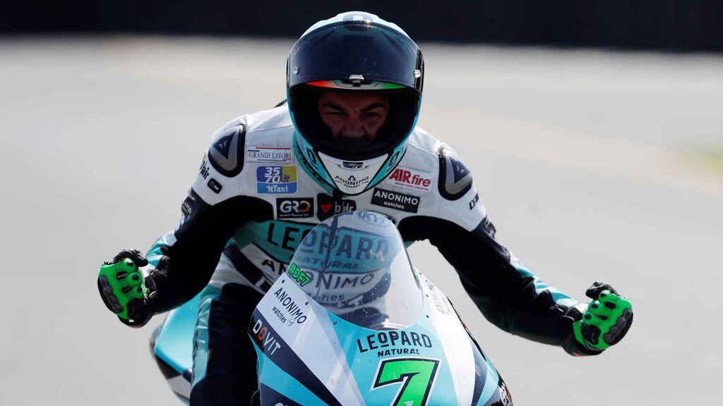 Foggia se lleva el triunfo en Moto3 en San Marino