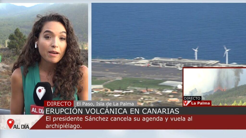 El temor de los vecinos de La Palma ante la erupción del volcán