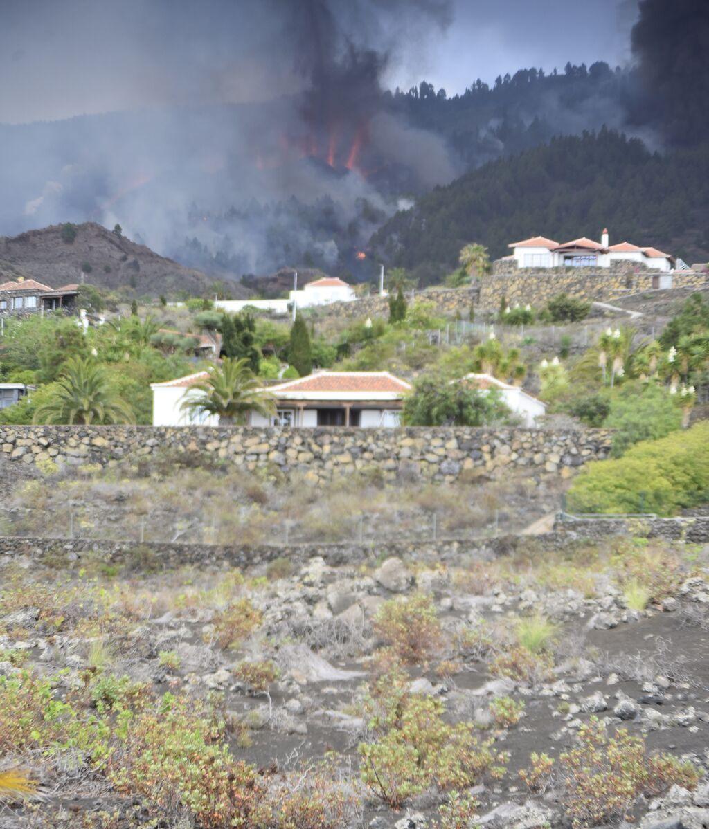 Las espectaculares imágenes que deja la erupción volcánica en La Palma