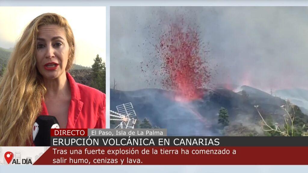 La erupción del volcán de Cumbre Vieja en La Palma