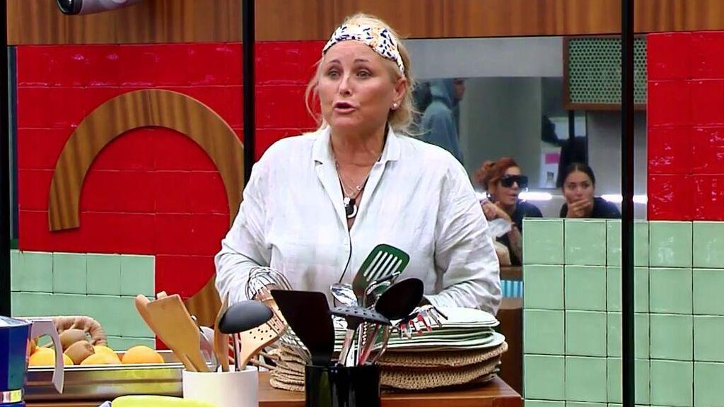 Lucía Pariente hace llorar a Cristina Porta tras una bronca