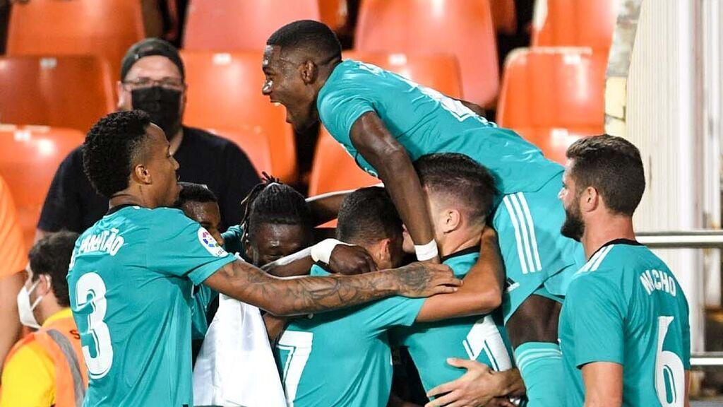 El Madrid demostró ante el Valencia que nunca se rinde (1-2)