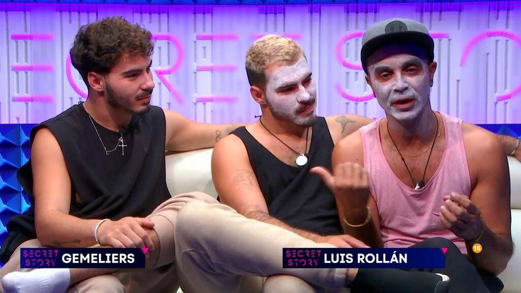 Gemeliers y Luis Rollán