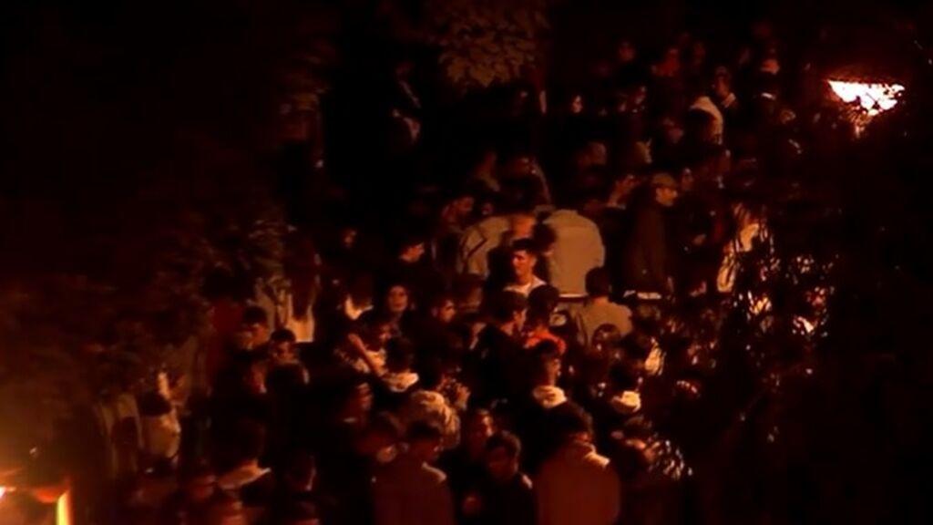 Hasta 4.000 jóvenes en el segundo gran botellón de San Mateo en Logroño
