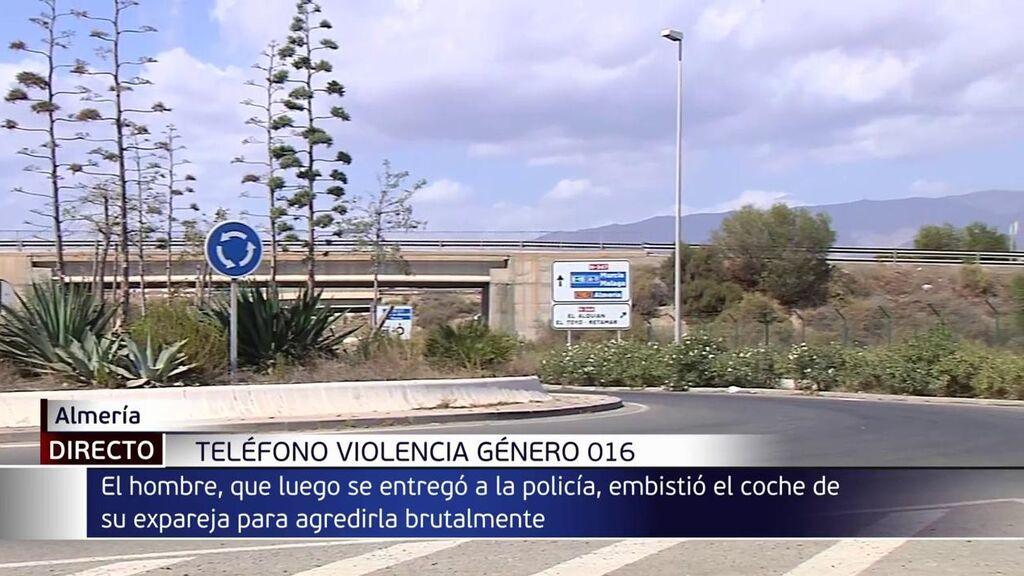 Una joven, en la UCI tras una agresión machista en Almería: sufrió una persecución en coche y fue golpeada