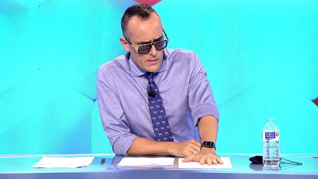 El controvertido mensaje de Risto Mejide a los habitantes de La Palma