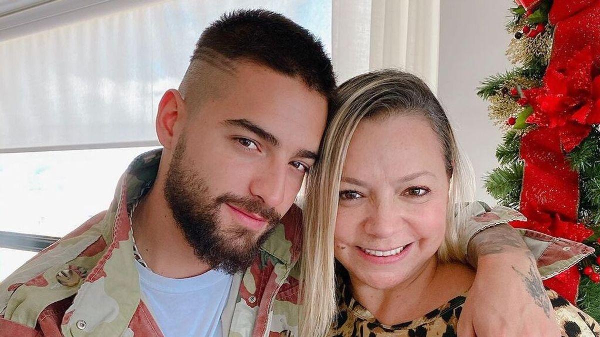 La madre de Maluma publica una foto del cantante con Susi Gómez y dispara los rumores de relación