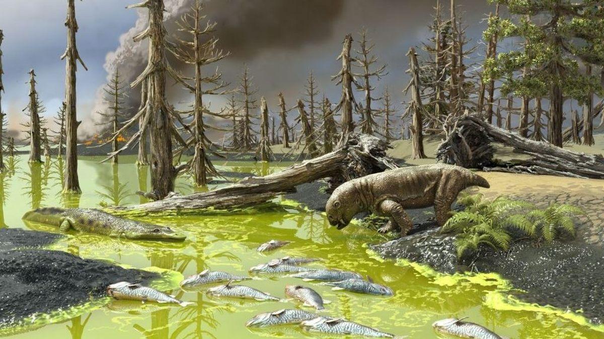 """La """"sopa tóxica"""" de la última extinción masiva en la Tierra se repite en la actualidad"""