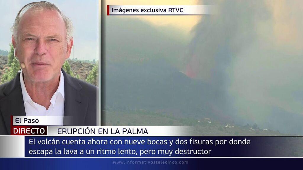 Piqueras en La Palma pide civismos y advierte de las 20.000 toneladas de dióxido de azufre en el aire