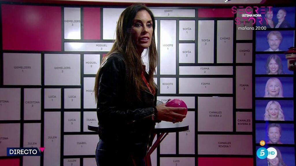 Isabel  Rábago se hace con la esfera de Chimo Vayo tras su enfrentamiento con Frigenti