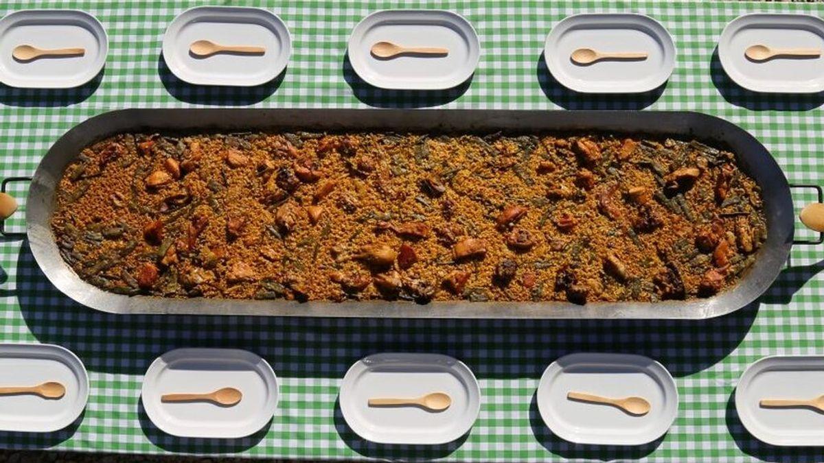 Paella rectangular: evolución o crimen gastronómico