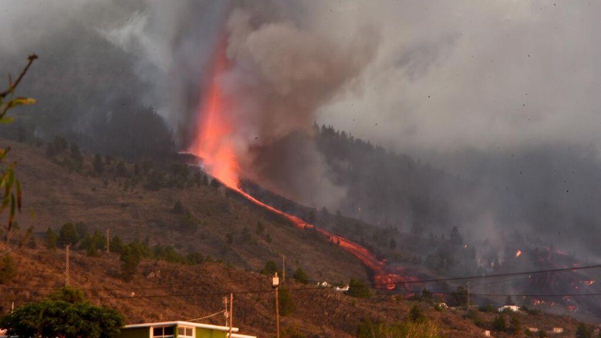 ¿Qué es la colada volcánica, que amenaza a los vecinos de La Palma?