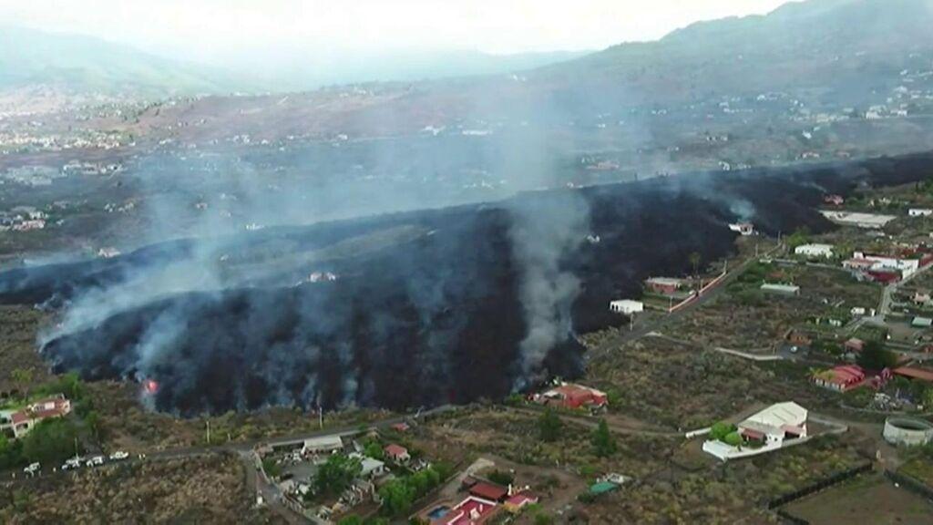 La Palma vive su octavo volcán en tiempos históricos, de nuevo en la Cumbre Vieja