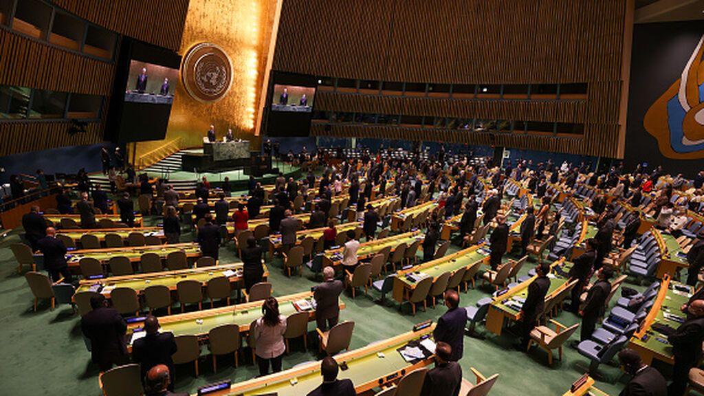 Los líderes mundiales por fin se ven las caras en la ONU tras la pandemia