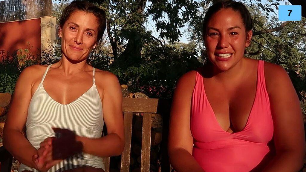 Steisy y Nagore Robles hacen un retiro espiritual y se emocionan (1/2)