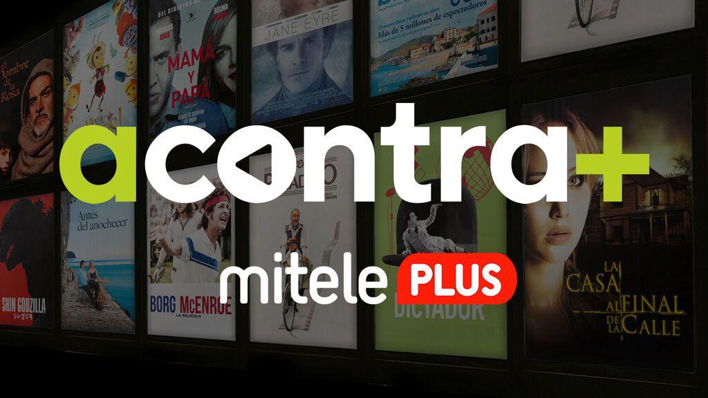 Mitele PLUS inaugura el canal cinematográfico AContra+ con un catálogo inicial de 240 películas