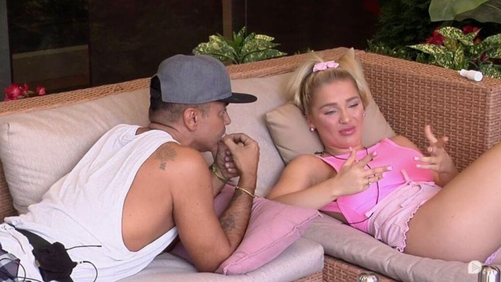 Emmy intenta aclarar la bronca entre Luca y Cris