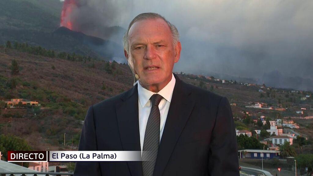 El resumen de Pedro Piqueras de 24 horas de erupción en La Palma