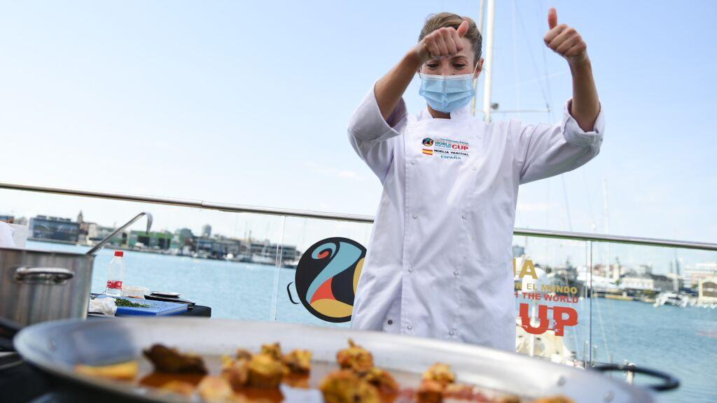 """España gana la World Paella Day Cup 2021 con una receta """"típica alicantina"""" de conejo con caracol serrana"""