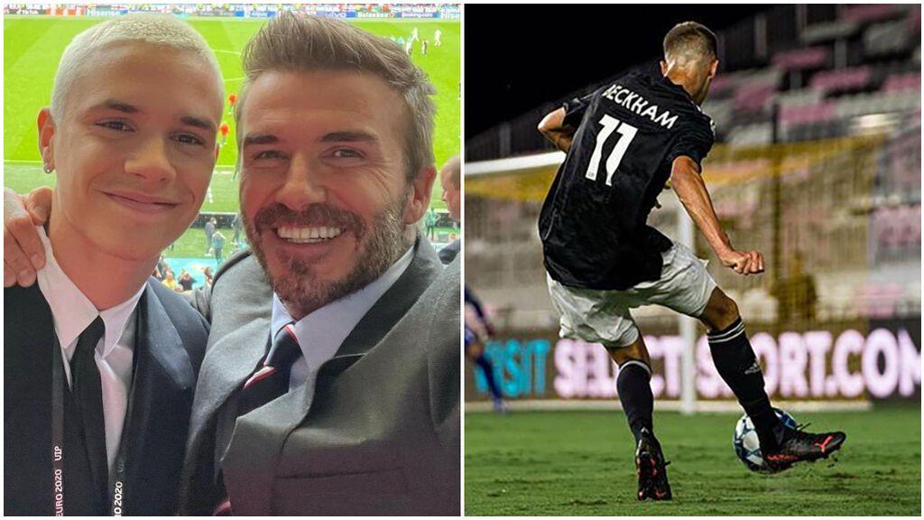 Romeo Beckham debutó con el número 11.