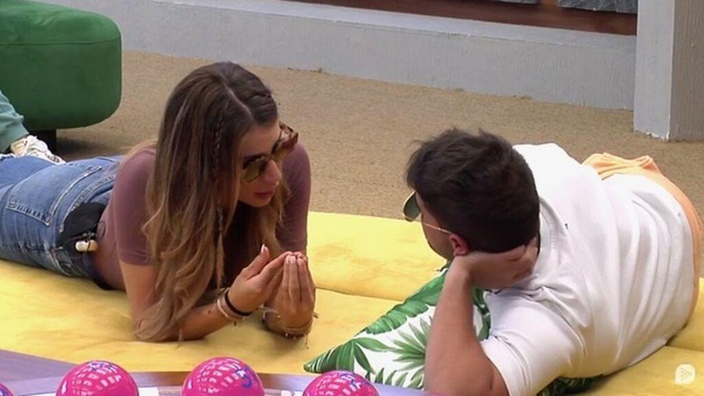 Cristina y Miguel hablan de la movida con Luca