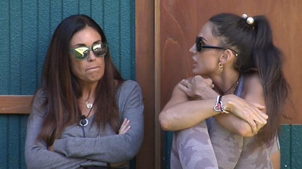 Isabel y Cynthia