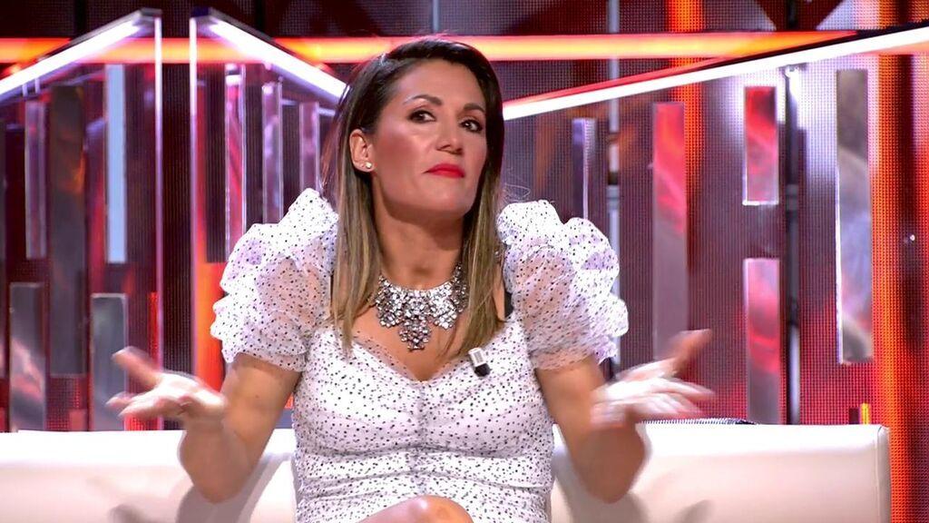 ¡Sandra Barneda desvela el detalle del estreno de 'la ultima tentacion' que ni Nagore había pillado!