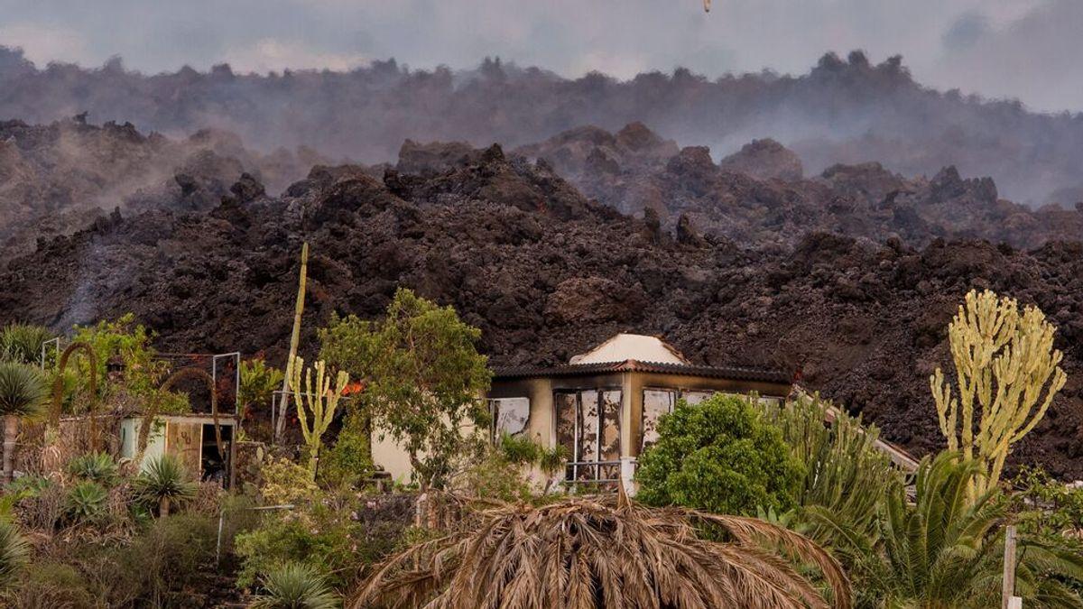 Casas y fincas arrasadas por el volcán de La Palma: ¿de qué se hacen cargo los seguros?