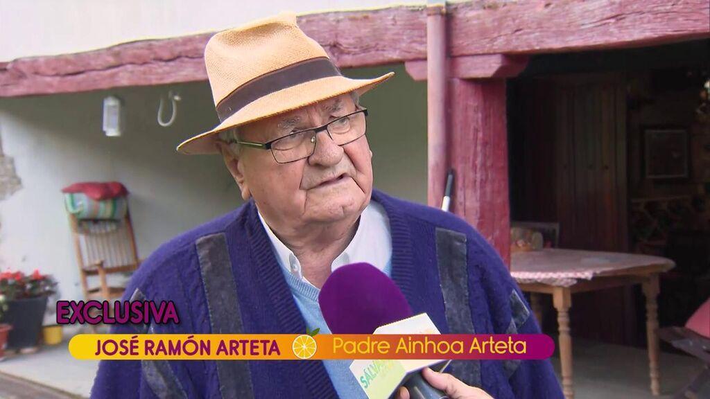 El padre de Ainhoa Arteta