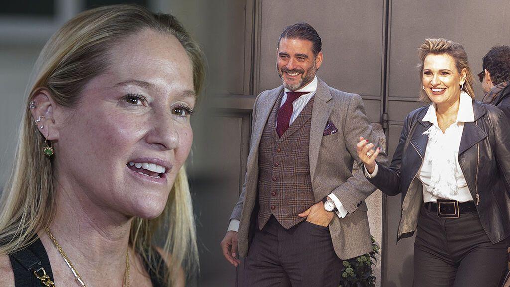 """Fiona Ferrer, sobre el supuesto episodio de tensión entre Ainhoa Arteta y Matías Urrea el día antes de su boda: """"Yo estuve calmándola"""""""