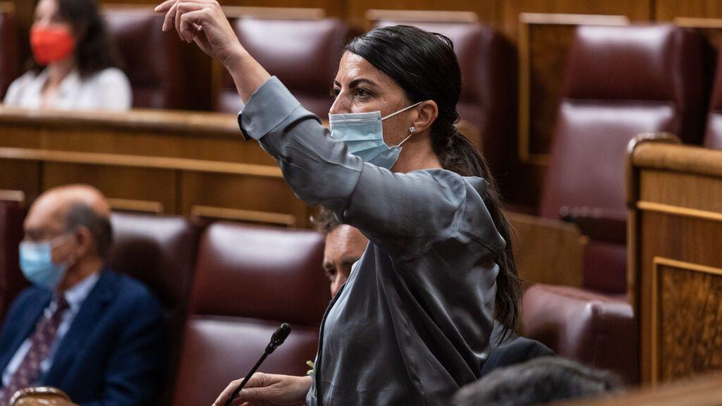Olona se encara con una periodista del Congreso