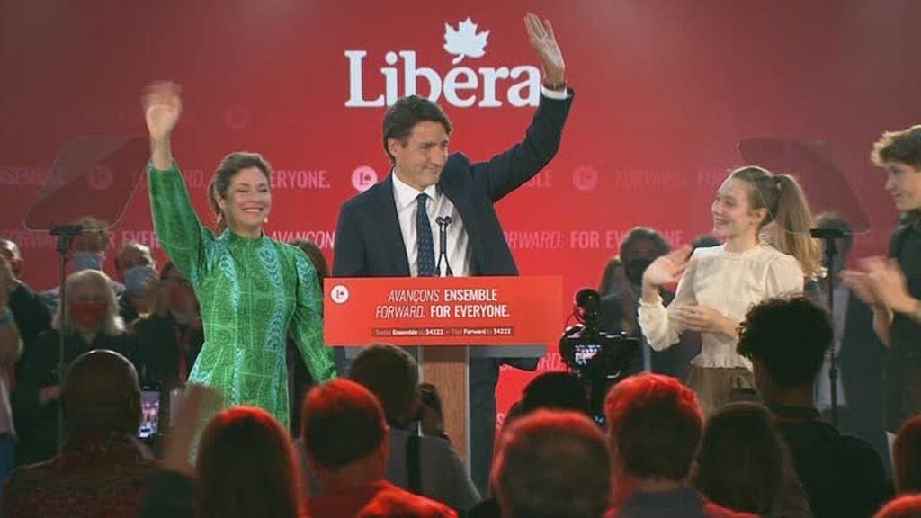 Trudeau gana las elecciones en Canadá, pero gobernará en minoría