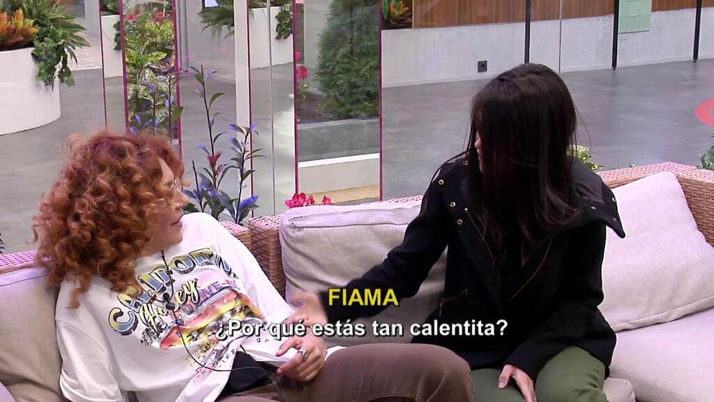 Bárbara Rey opina sobre Fiama y Sofía Cristo