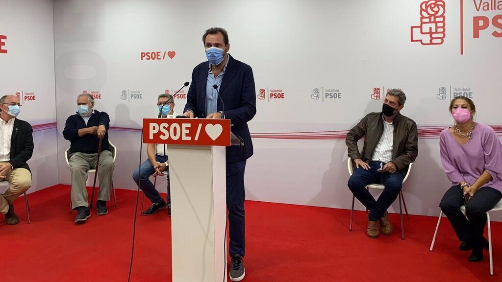 Oscar Puente, alcalde de Valladolid, deja la Ejecutiva del PSOE para centrarse en Castilla y León