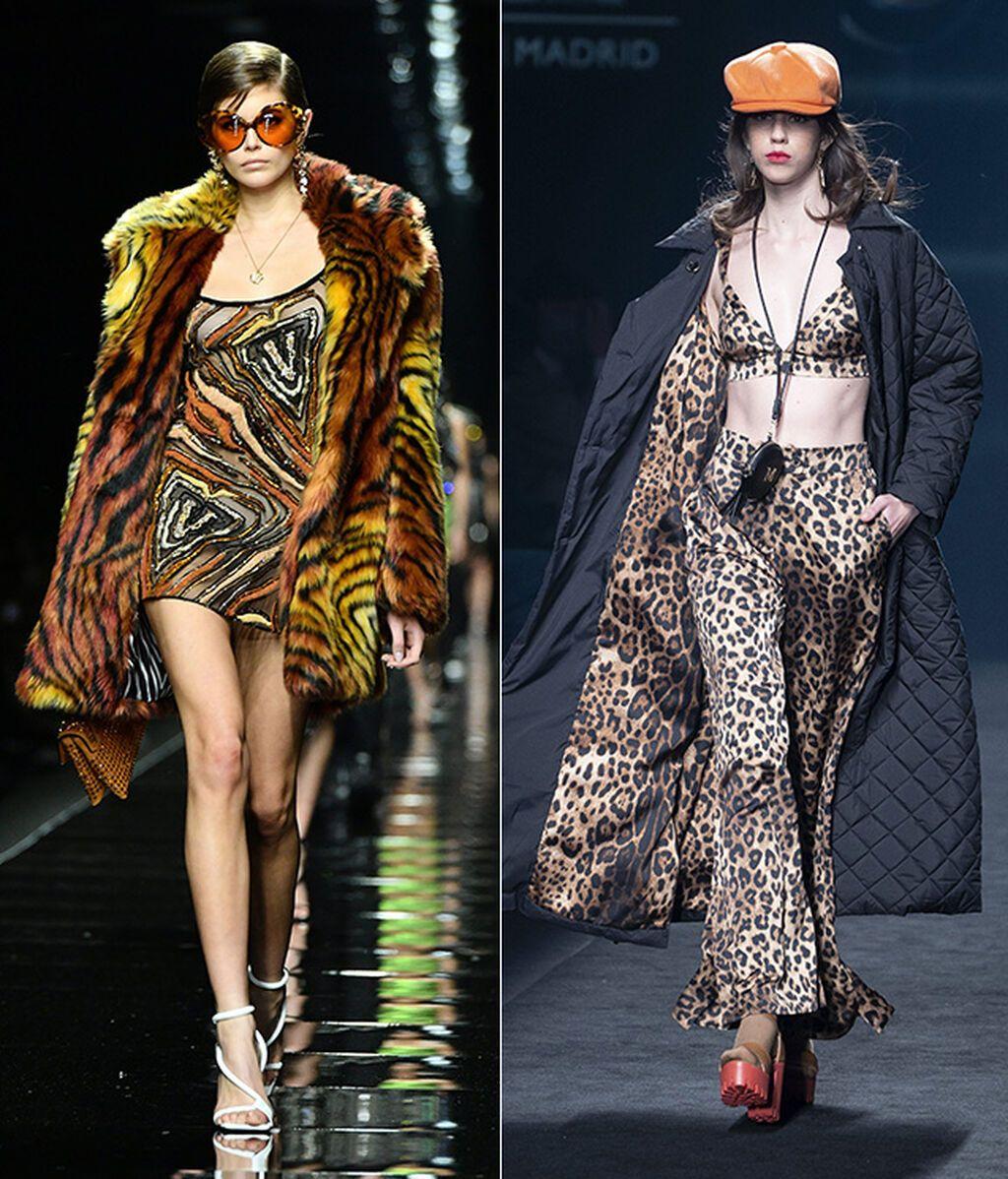 Versace y Lola Casademunt by Maite