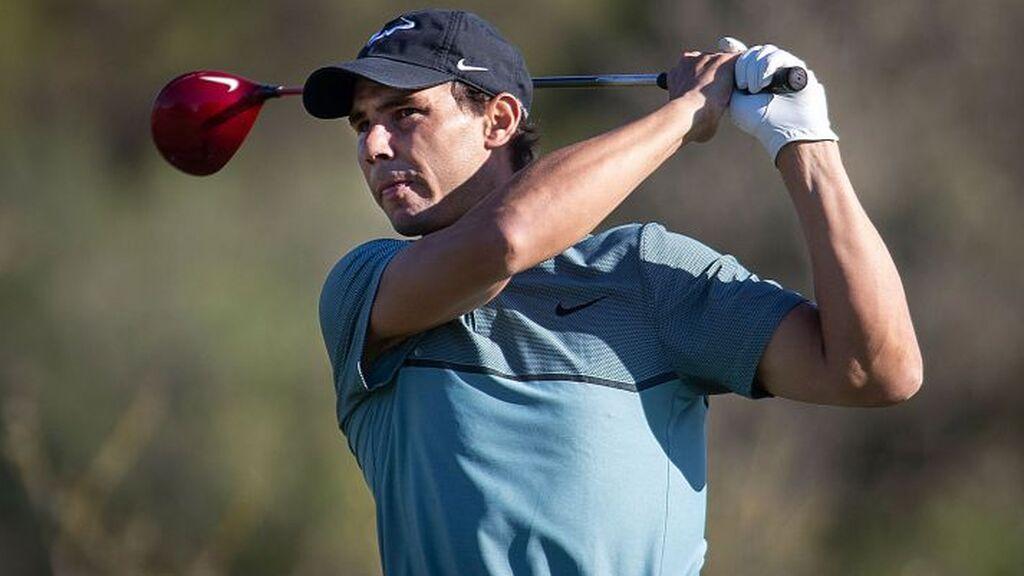 Rafa Nadal recibe una invitación para jugar el Open de España… de golf