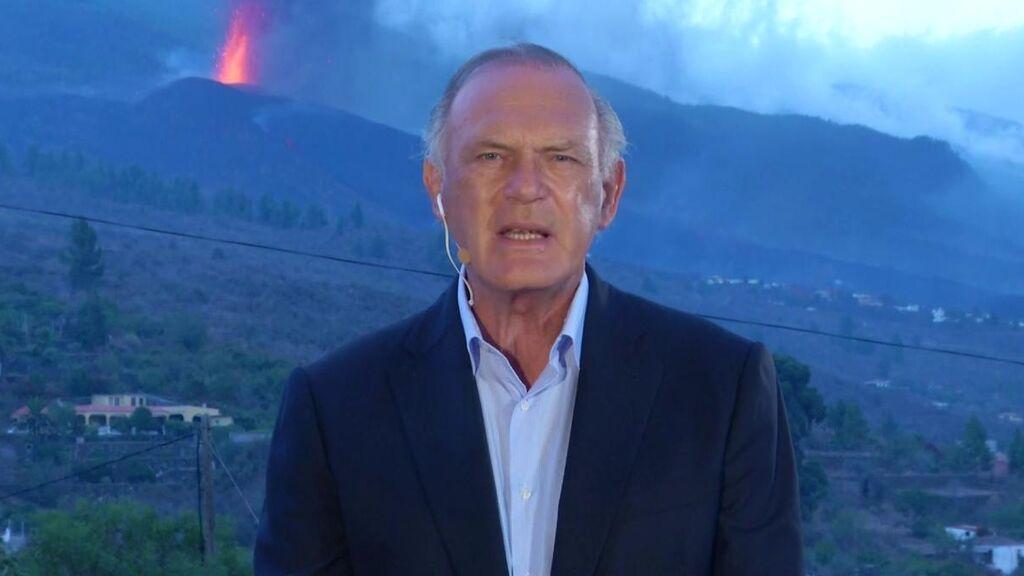 Pedro Piqueras analiza en primera persona la erupción del volcán de La Palma