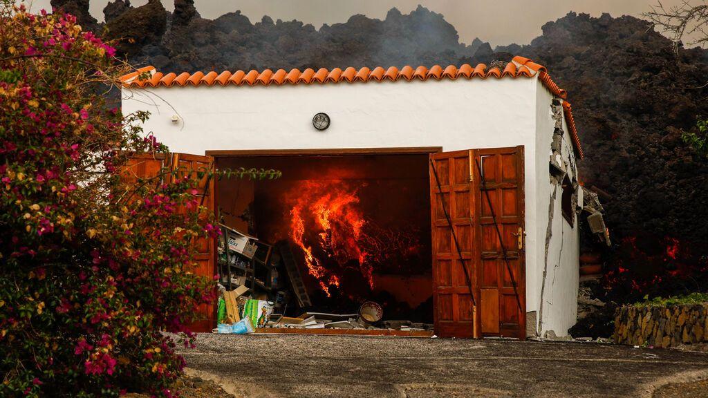Extensión afectada por la lava de la erupción de La Palma