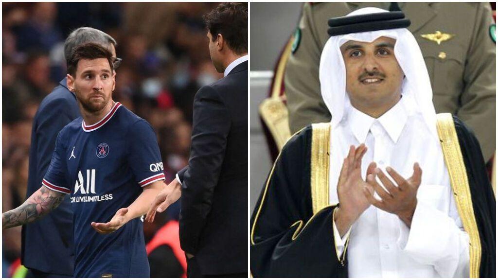 El 'mosqueo' de Messi por su sustitución enciende las dudas con Pochettino de los jeques del PSG