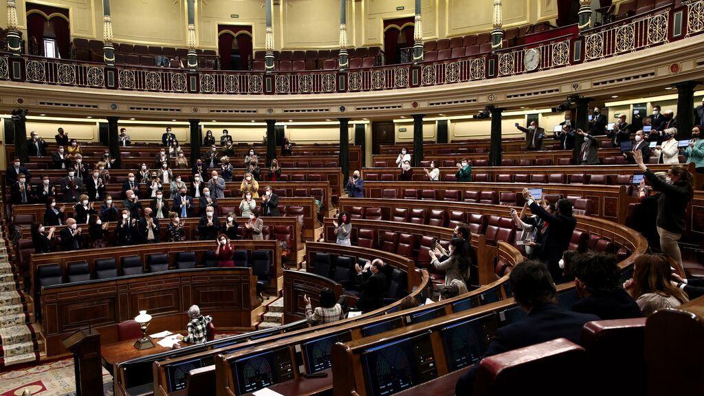 El Congreso aprueba su presupuesto de 2022 y renuncia a subir el sueldo a los diputados un 2%