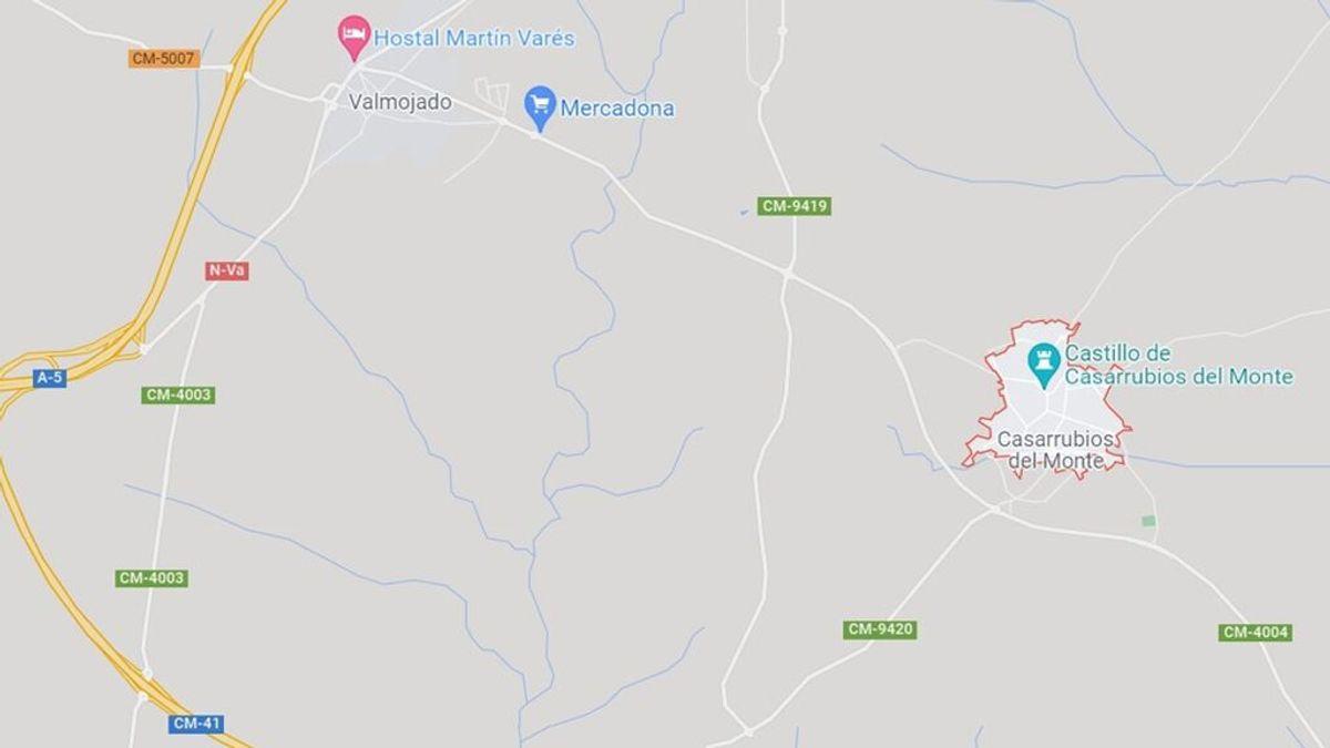 Fallece un joven de 18 años atropellado por un turismo en la A5, a la altura de Casarrubios del Monte, en Toledo