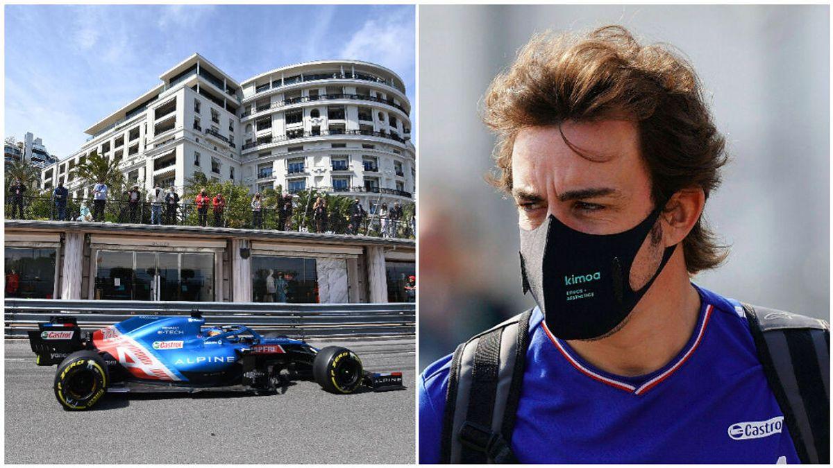 El deseo imposible de Fernando Alonso: sueña con una grada con su nombre en el circuito de Mónaco