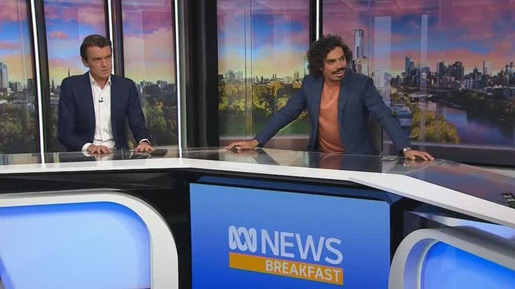 Un terremoto de 5,9  sorprende en directo a dos presentadores en Melbourne