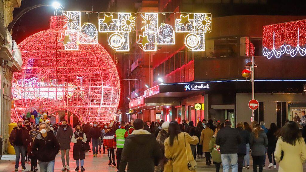Vigo sube la apuesta para la Navidad y, además de luces, tendrá megafonía con villancicos en sus calles