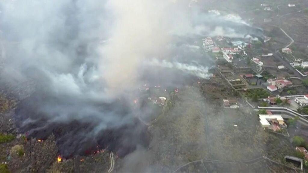 Las mascarillas no protegen del aire en La Palma, hay que proteger a los niños