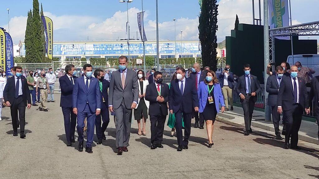 Respaldo de Felipe VI al sector oleícola español con su presencia en Expoliva 2021 en Jaén