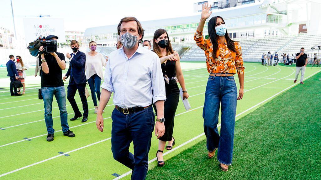 """Cruce de reproches entre Villacís y Almeida por el Madrid  Olímpico en 2036: """"Deportes es de Ciudadanos"""" o """"Hay que tener consenso"""""""