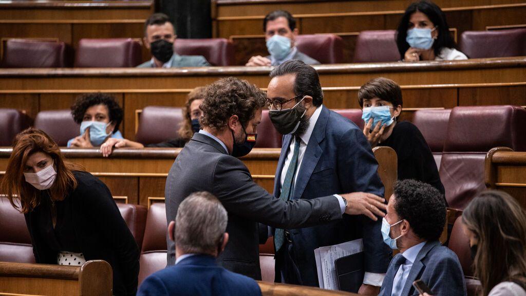 """José María Sánchez, el diputado de Vox que llamó """"bruja"""" a una parlamentaria del PSOE"""